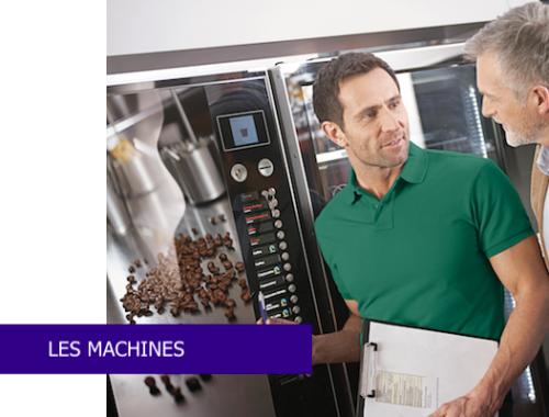 les machines proposées par l'instant café by SODAP