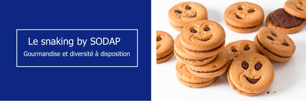 le snaking sélectionné par sodap