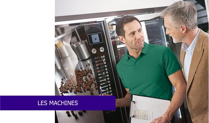 les machines distributeurs à café boissons snack éco responsable